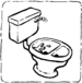 Urine Diverting Flush Toilet